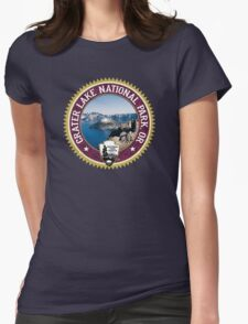 Crater Lake National Park Womens Fitted T-Shirt