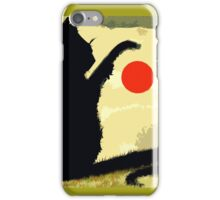 THE RED BALL iPhone Case/Skin
