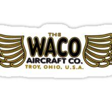 Waco Vintage Aircraft Sticker
