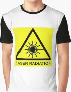 Laser Radiation Symbol  Graphic T-Shirt