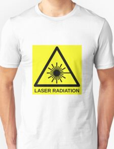 Laser Radiation Symbol  T-Shirt