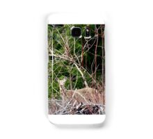 White Tailed Deer through Brush Samsung Galaxy Case/Skin