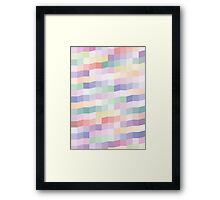 Color square Framed Print
