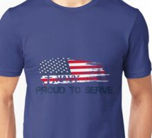 US Navy Proud To Serve Unisex T-Shirt