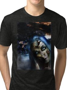 Zombie In the street Tri-blend T-Shirt