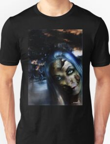 Zombie In the street Unisex T-Shirt