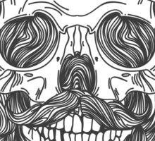 Death By Hipster Sticker