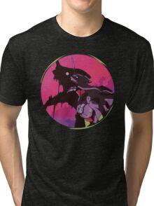 EVA 01 - Evangelion T-shirt / Poster / Phone case / Mug 2 Tri-blend T-Shirt