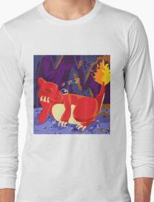 Sleeping Charmeleon Long Sleeve T-Shirt