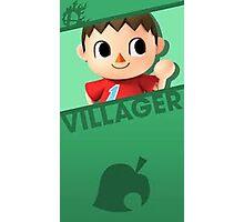 Super Smash Bros.: Villager Photographic Print