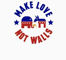 Make love, not walls Unisex T-Shirt