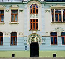 Czech Buildings by Louise Fahy