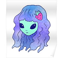 Alien Babe Poster