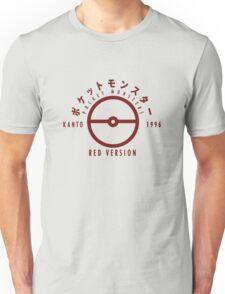 Pokemon Red Version Unisex T-Shirt