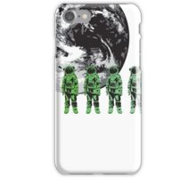 Astronauts And Earth iPhone Case/Skin