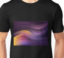 Abstract modern wavy background elegant wave Unisex T-Shirt
