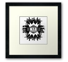 One King One crown Framed Print