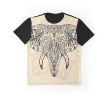 Tribal Elephant Graphic T-Shirt