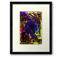 sike a dell lick flyher Framed Print