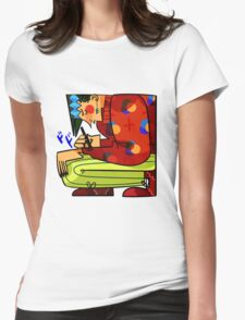 Rohan print Womens Fitted T-Shirt