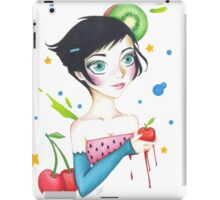 Fruit Girl  iPad Case/Skin