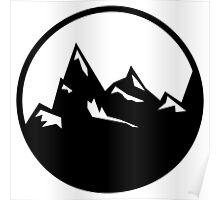Explore Hike Adventure Mountains Poster