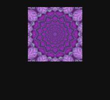 Orchid Meets Lotus Mandala Unisex T-Shirt