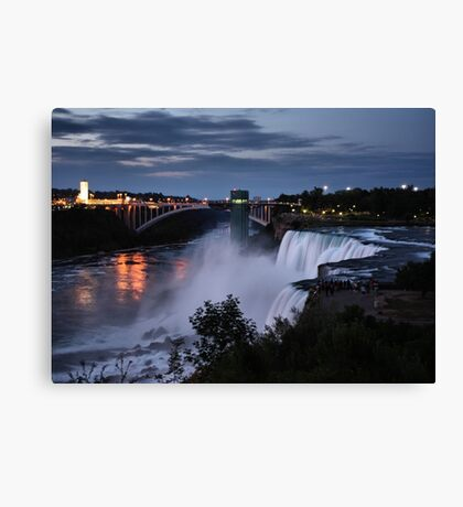 Night Falls Canvas Print