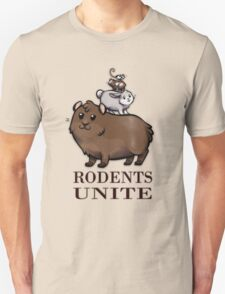 Rodents Unite! Unisex T-Shirt