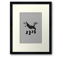 Mightyena Framed Print