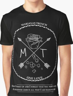 Marianas Trench - One Love design Graphic T-Shirt