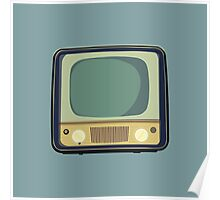 Green TV Poster