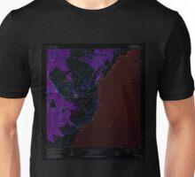 USGS TOPO Map Hawaii HI Naalehu 349605 1981 24000 Inverted Unisex T-Shirt