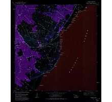USGS TOPO Map Hawaii HI Naalehu 349605 1981 24000 Inverted Photographic Print