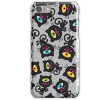 Black cats. iPhone Case/Skin