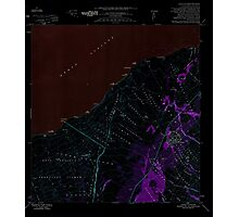 USGS TOPO Map Hawaii HI Pahala 349635 1981 24000 Inverted Photographic Print