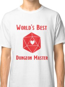 World's Best Dungeon Master Classic T-Shirt