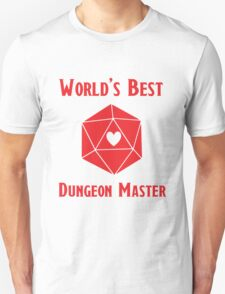 World's Best Dungeon Master Unisex T-Shirt
