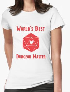 World's Best Dungeon Master Womens Fitted T-Shirt