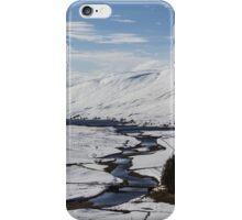 Scottish Highlands in Winter iPhone Case/Skin