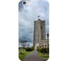 St Peter and Paul church's Church1-Lavenham iPhone Case/Skin