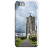 St Peter and Paul church's Church1-Lavenham iPhone Case/Skin