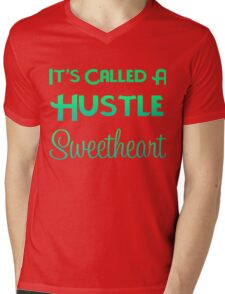 It's Called A Hustle Mens V-Neck T-Shirt