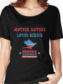 Bernie Sanders - Mother Nature Women's Relaxed Fit T-Shirt