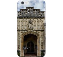 Around St Peter and Paul church's Church4-Lavenham iPhone Case/Skin