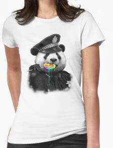LOLLYPOP COP Womens Fitted T-Shirt