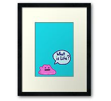 Ditto is Life Framed Print