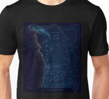 USGS TOPO Map Hawaii HI Honaunau 349830 1928 62500 Inverted Unisex T-Shirt