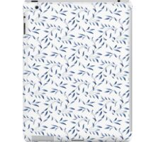 Blue Willow Leaves iPad Case/Skin