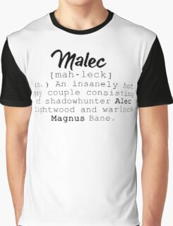 Malec definition Graphic T-Shirt